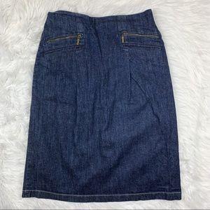3 FOR $15! St. John's Bay Denim Pencil Skirt